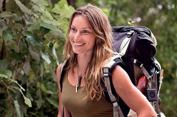 Woman in the Wilderness author loves a life without walls