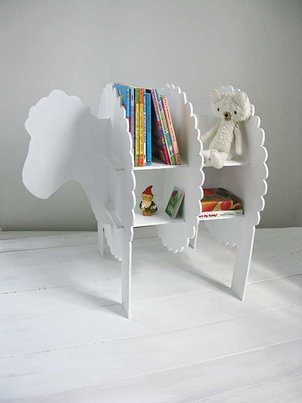 Sheep bookcase