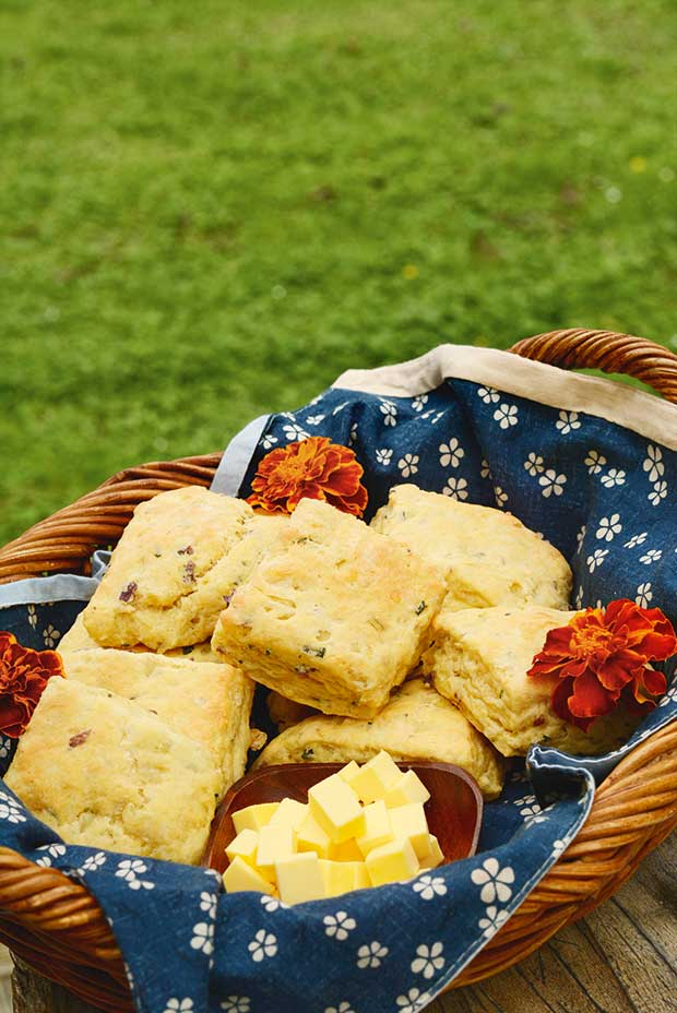 scone recipe with vegetables
